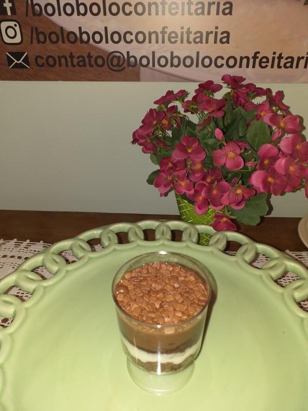 Bolo de Pote de Chocolate Cotação Morumbi - Bolo de Pote Amendoim