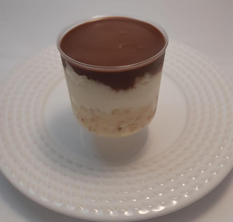 Bolo de Pote Leite Ninho com Nutella Vila Clementino - Bolo de Pote sem Açúcar