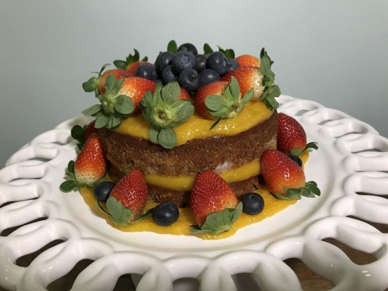 Naked Cake Funcional Orçamento Pacaembu - Naked Cake para Aniversário