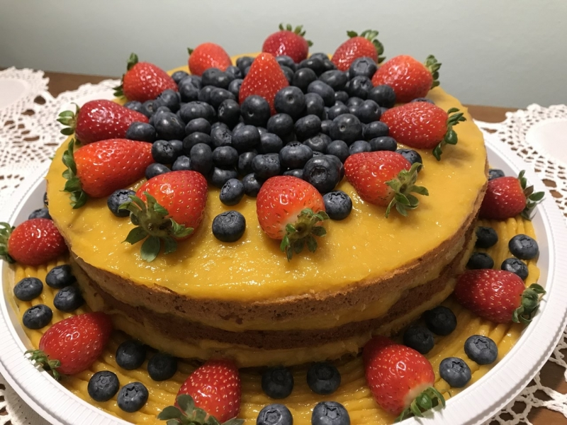 Naked Cakes sem Glúten Jardim Bonfiglioli - Naked Cake Funcional