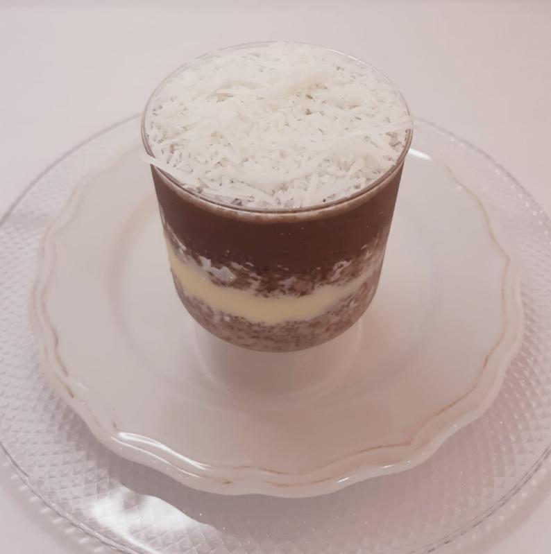 Quero Comprar Bolo de Pote Prestígio Jardim Guedala - Bolo de Pote de Chocolate