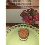 bolo de pote de chocolate cotação Barra Funda