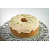 bolo natural de limão Vila Mariana