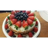 compra de naked cake para aniversário Barra Funda