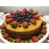 compra de naked cake para festa Jardim Bonfiglioli