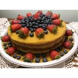 confeitaria de confeitaria de naked cake Morumbi