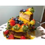 naked cakes para festa Vila Olímpia